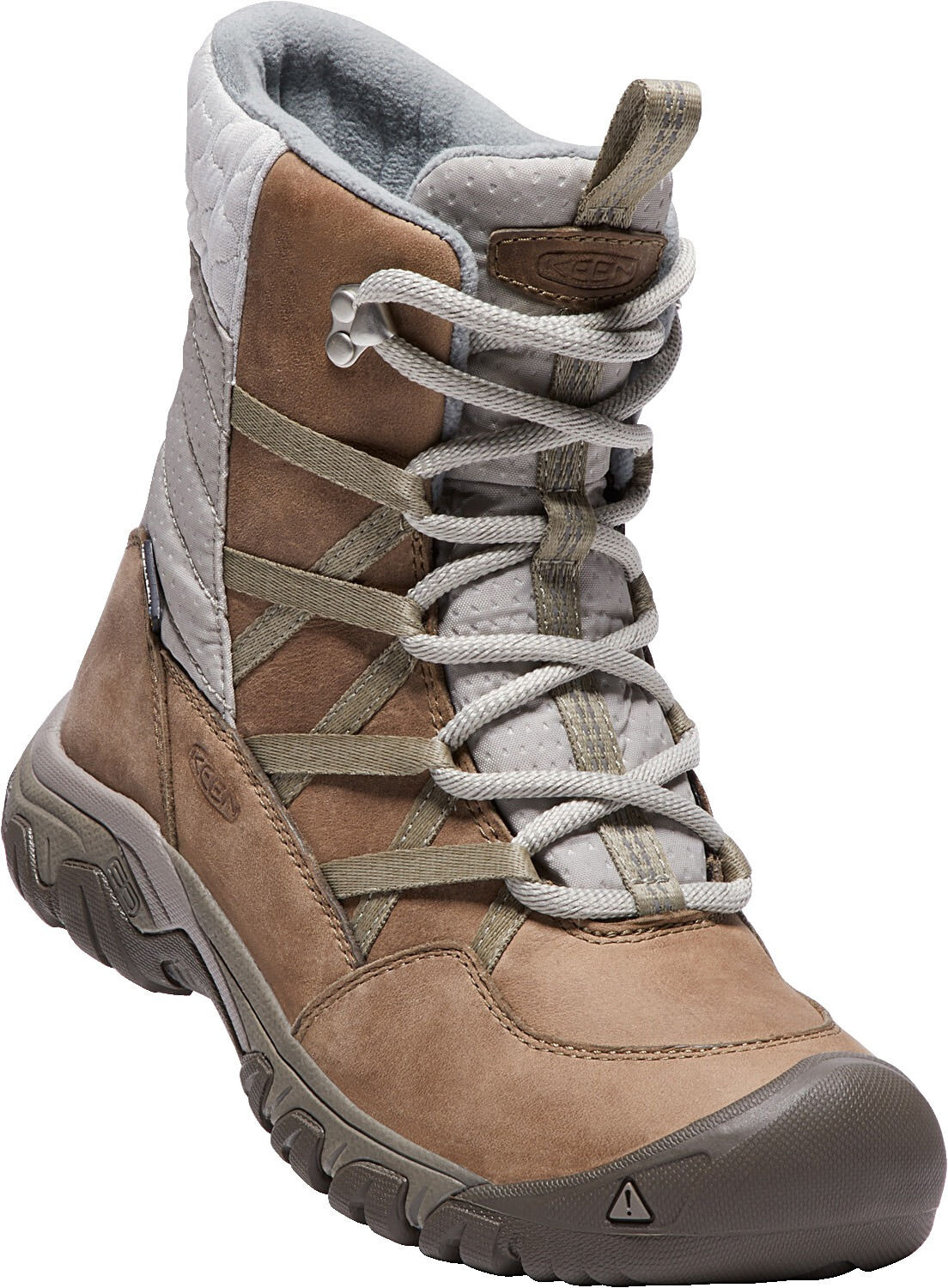 c61d66b4ab Keen Hoodoo III Lace Up Shoes Women brown/white at Addnature.co.uk
